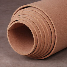 3 Rolls 1.5mm Thick Craft Cork Roll Sheet 20 x 100 cm cheap DIY Class Kids Room