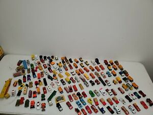Lot of Vintage Matchbox Cars and Vehicles by Lesney over 150 vehicles!