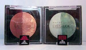 Maybelline Eye Studio Marbelized Baked Eye Shadow Pearl Duos - Select Your Shade