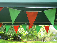 long fabric buntings garden party weddings school party  choose colour .doubled