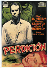 Double indemnity Barbara Stanwyck  movie poster 24x33 inches
