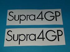 Hercules Supra 4 GP Seitendeckel Design Sticker Schriftzug Dekor Aufkleber