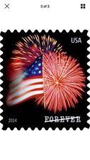 Star Spangled Banner Roll Stamps Us Flag 100 Forever Usps Postage Coil Fireworks