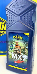 Putoline MX7 Two 2 Stroke Oil Motocross Enduro Off Road Fully Synthetic 1 Litre