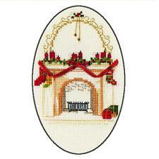 Derwentwater Designs Natale Cross Stitch CARD KIT-Natale camino