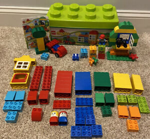 Lego Duplo Toddler Building Set 10572 All In One Box Of Fun Complete Plus Extras