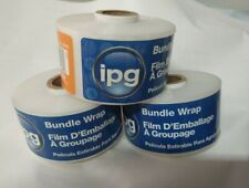 2x650 Foot Stretch Wrap Flat Twine Refill Ipg No Handle 3 Pack