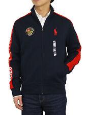 Polo Ralph Lauren Big Pony Zip-up Jersey Jacket w/ Patch