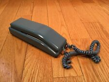 Vintage Northern Telecom Nortel SOLO Blue Touch-Tone Desk Wall Phone 1986
