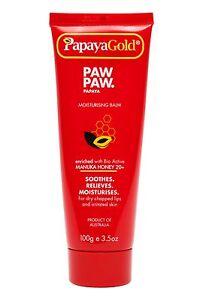 PapayaGold PAW PAW Moisturising Balm with Manuka Honey and Papaya- 100g