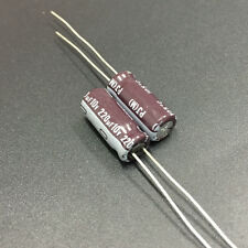 10pcs 220uF 10V NICHICON PJ 10V220UF Low Impedance Long Life Capacitor  6.3x15mm