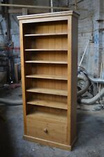 HANDMADE SOLID PINE WAXED BOOKCASE