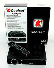 COOLSAT 4000 PRO Digital Free to Air Satellite Receiver in Box with Remote