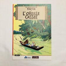Tintin l'Oreille cassée - Livret N°2 - La Libre Belgique CBC HERGE EO 2002