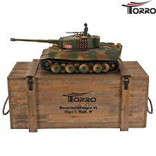 1:16 RC Panzer  Torro Tiger I. Mittlere Ausführung BB Metall Profi-Edition RRZ
