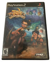 Tak: The Great Juju Challenge (Sony PlayStation 2, 2005) PS2 Complete W/ Manual