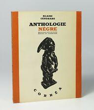 """CENDRARS """"Anthologie nègre"""" Edition définitive. Corrêa, 1947. 1/20 ex. de tête"""
