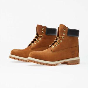 Timberland Men's Premium Boot Rust Nubuck TB072066827 SZ 11.5