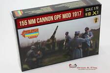 Strelets Set A018 - 155mm Cannon GPF Mod 1917 - 1/72 Scale plastic model kit