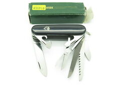 VTG 1980s PUMA SOLINGEN GERMANY SWISS ARMY MULT TOOL MOUNTAINEER FOLDING KNIFE