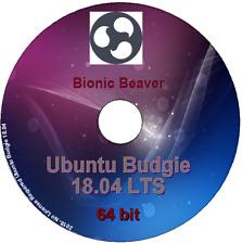 Ubuntu Budgie 18.04 - 64 bit Desktop DVD Live/Install -light & lean, Gnome based