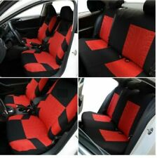 Car Seat Covers Protectors Universal Washable Dog Pet Full Set Front Rear Red