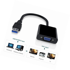 External Graphic Card Video Converter Adapter for Win7/8/10 1080P USB 3.0 to VGA
