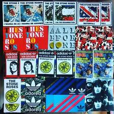 28 x Stone Roses Stickers -  Ian Brown Poster Adored Waterfall Laptop Bucket Hat