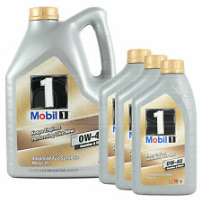 Mobil 1 FS 0W-40 Fully Synthetic Engine Oil 0W40 Mobil1 - 5 + 3x1L: 8 Litres