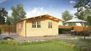 HURRY UP!LAST 1 IN STOCK! Log cabin FARO 5x5m (25m²), 44mm / Free delivery*