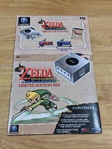 Nintendo GameCube The Legend of Zelda Windwaker Limited Edition Pak SLEEVE ONLY
