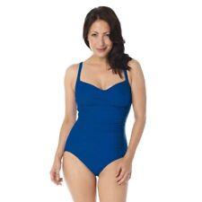 JML Belvia Slim Blue Swim Swimwear Shape Control - Size 10