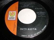 Patti Austin: Your Love Made The Difference In Me 45 - Soul