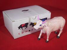 """Cow Parade #9183 """"Smooch"""" 2001 - Box & Hang Tag - Excellent Condition"""