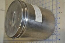 military US medical stainless steel jar surgical USA made BICO size 4 w/lid
