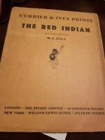 """""""The Red Indian"""", 1931 Book of Currier and Ives Prints"""
