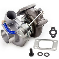 GT25 GT28 GT2871 GT2860 Turbocharger Upgrade T25 T28 Water/Oil Cooled .64 Turbo
