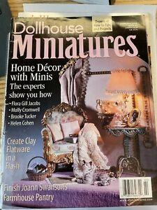 Dollhouse Miniatures - February 2000