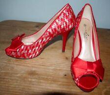 Stiletto Satin Multi-Coloured Heels for Women