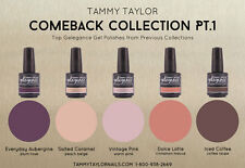 Tammy Taylor Nails - COMEBACK COLLECTION PT.1  Gelegance Gel Polish - 5 Colors