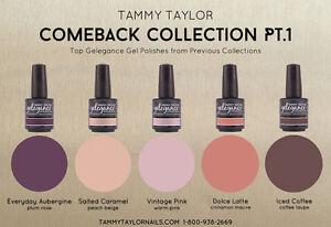 Tammy Taylor Nails - COMEBACK COLLECTION PT.1  Gelegance Gel Polish - 5 Colors