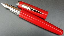 Taccia by ItoYa. P800 Fountain pen. Bright Red. New old stock.