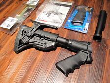 Mesa + MAKO GL SHOCK ABSORBER Remington 870 Cheek Pistol Grip 6 Position Stock