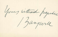 ISRAEL ZANGWILL - AUTOGRAPH QUOTATION SIGNED