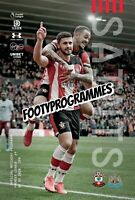 SOUTHAMPTON V NEWCASTLE UNITED Premier League Programme 19/20 Free UK Postage