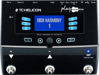 New TC Helicon Play Acoustic Vocal and Acoustic Guitar Effects Stompbox Pedal