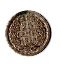 25 Cents - Niederlande - 1919 - Wilhelmina - (f9n46105)