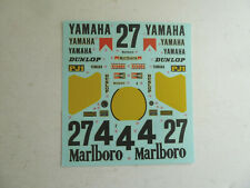 Tamiya model decals, Yamaha YZR500, 1/12 scale, OW70, 1991