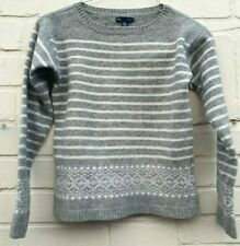 Ladies GAP Winter Grey Jumper size 8 ideal Lambs Wool