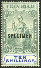 """Trinidad   1896-1904   Scott # 89  Mint Hinged """"SPECIMEN"""""""